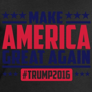 Make america great again trump 2016 Camisetas - Sudadera hombre de Stanley & Stella