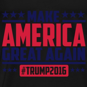 Make america great again trump 2016 Toppe - Herre premium T-shirt