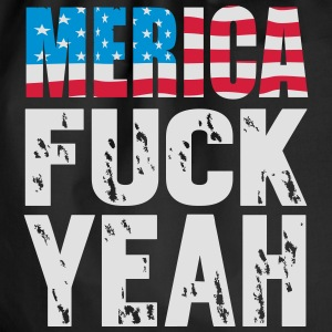Merica fuck yeah Hoodies & Sweatshirts - Drawstring Bag