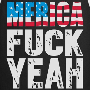 Merica fuck yeah Sweat-shirts - Tablier de cuisine