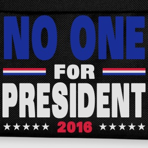No one for president 2016 Hoodies & Sweatshirts - Kids' Backpack