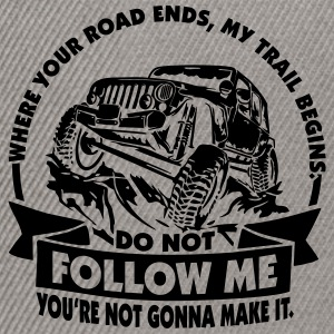 Offroad 4x4 - Jeep - Do not follow me... - Snapback Cap