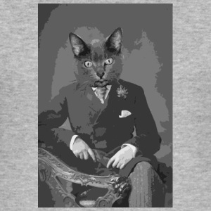cat portrait 1 Hoodies & Sweatshirts - Men's Slim Fit T-Shirt