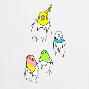 Little parrots popping - Cooking Apron