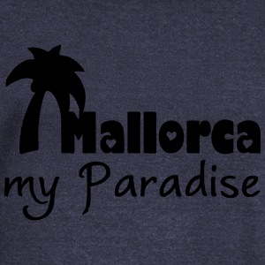Mallorca Paradise T-Shirts - Women's Boat Neck Long Sleeve Top