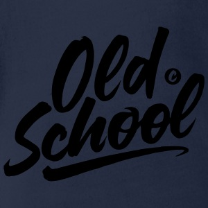 THE OLD SCHOOL Shirts - Organic Short-sleeved Baby Bodysuit