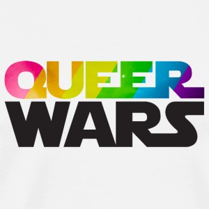 Queer Wars Rainbow LGBT Parody Teddy Bear Toys - Men's Premium T-Shirt