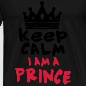 I AM A PRINCE Sweat-shirts - T-shirt Premium Homme
