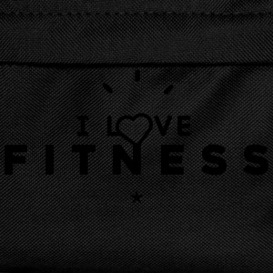 Tee shirt Homme i love fitness - Sac à dos Enfant