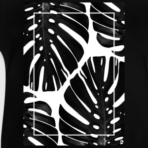 AD Monstera T-shirts - Baby-T-shirt