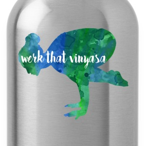 ORGANIC YOGA TEE- Ethically sourced, fair trade - Water Bottle