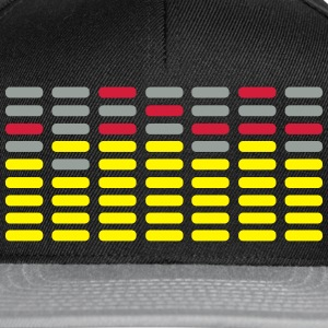 EQ Analyser Analyzer Digital Display Anzeige T-Shirts - Snapback Cap