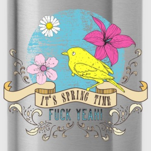 spring_time_04201601 T-Shirts - Trinkflasche