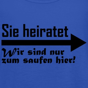 sie heiratet T-Shirts - Frauen Tank Top von Bella