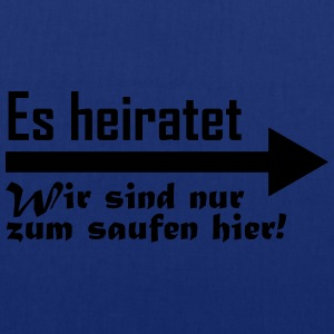 es heiratet T-Shirts - Stoffbeutel