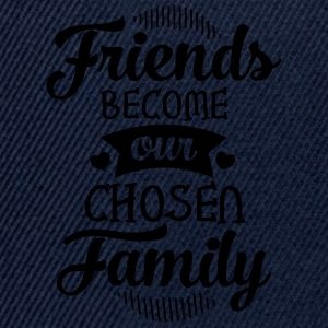 Friends Become Our Chosen Family Manga larga - Gorra Snapback