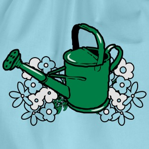 Garden watering flower gardening T-Shirts - Drawstring Bag