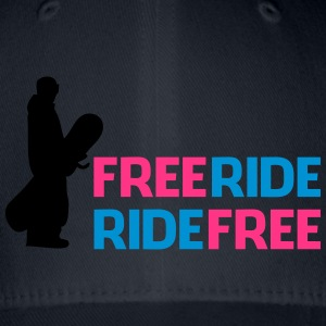Freeride, Ride gratis - Flexfit baseballcap