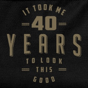 Funny 40th Birthday T-shirt - Kids' Backpack