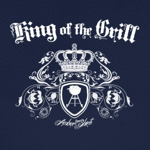 Marine King of the Grill Tee shirts - Casquette classique