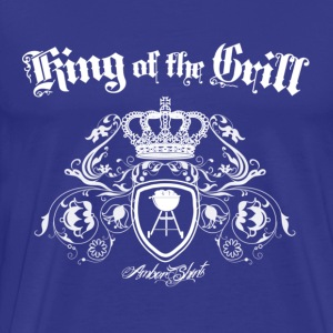 Marine King of the Grill Tee shirts - T-shirt Premium Homme