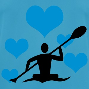Canoe with heart - Men's Breathable T-Shirt