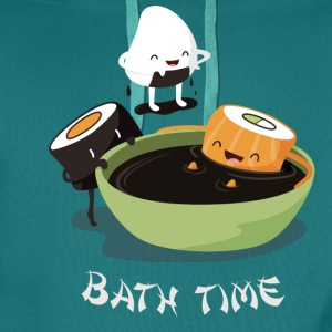 Sushi Bath Time T-Shirts - Men's Premium Hoodie