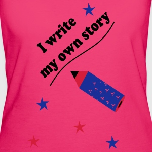 I write my own story - Women's Organic T-shirt