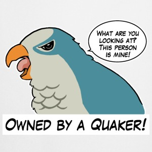Owned by a blue quaker - Cooking Apron