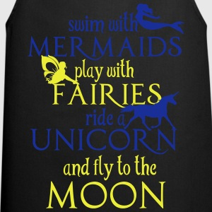 Mermaids, Fairies, Unicorn, Moon Gensere - Kokkeforkle