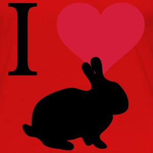 I love bunnies - Women's Premium Longsleeve Shirt