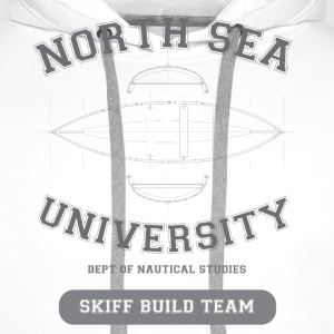 North Sea Skiff Builder. - Men's Premium Hoodie