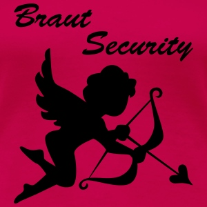 Braut security - Frauen Premium T-Shirt