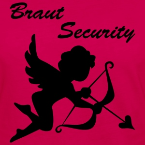 Braut security - Frauen Premium Langarmshirt