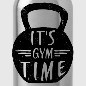 IT'S GYM TIME Tops - Water Bottle