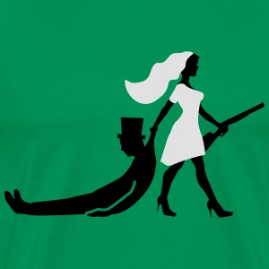 The hunt is over JGA Game over T-Shirts - Männer Premium T-Shirt