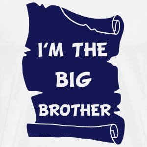 I'm the big brother Langarmshirts - Männer Premium T-Shirt