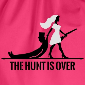 The hunt is over JGA Junggesellenabschied Party Tops - Gymtas