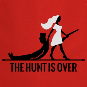 The hunt is over JGA Junggesellenabschied Party Abbigliamento sportivo - Grembiule da cucina