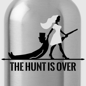 The hunt is over JGA Junggesellenabschied Party Sports wear - Water Bottle