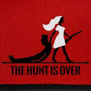 The hunt is over JGA Junggesellenabschied Party Toppe - Snapback Cap