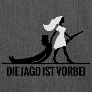die Jagd ist vorbei Game Over JGA T-Shirts - Schultertasche aus Recycling-Material