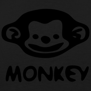 Monkey Contrast Colour Hoodie - Men's Premium T-Shirt