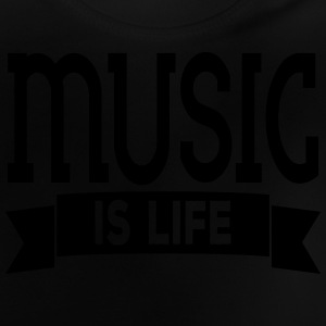 music is life Tee shirts - T-shirt Bébé