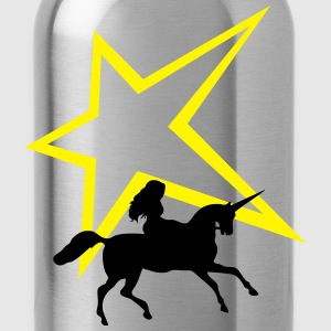 Unicorn star - Water Bottle