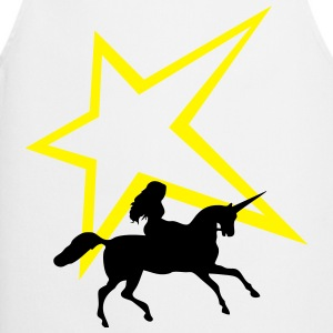 Unicorn star - Cooking Apron