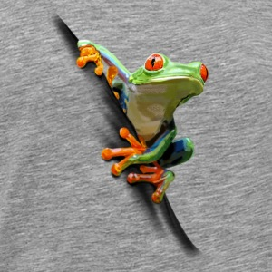 Frog Toppe - Herre premium T-shirt