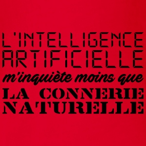 Intelligence artificielle Tee shirts - Body bébé bio manches courtes
