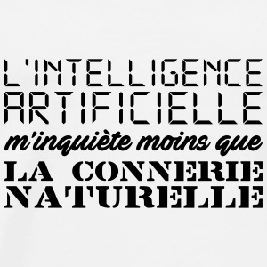 Intelligence artificielle Badges - T-shirt Premium Homme