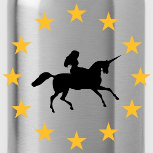 Unicorn in stars - Water Bottle